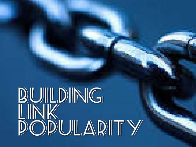 Building Link Popularity