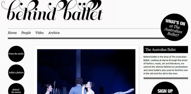 Behind Ballet