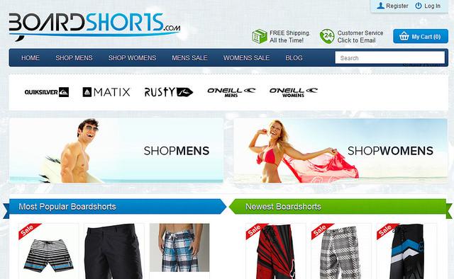 Board Shorts: