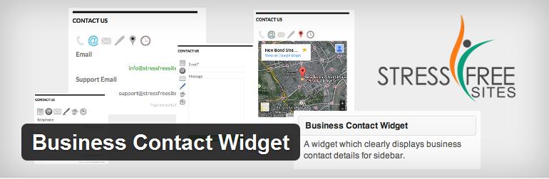 Business Contact Widget