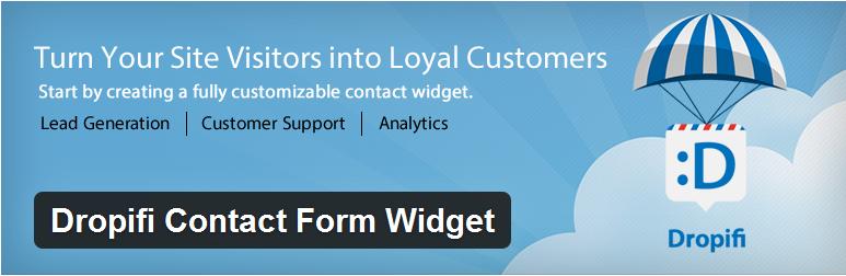 Dropifi Contact Form Widget