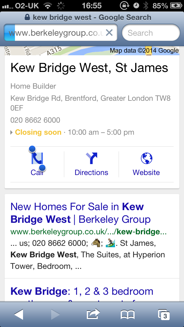 Emoji Characters Showing In Google Search When Browsed Through iPhoneAndroid