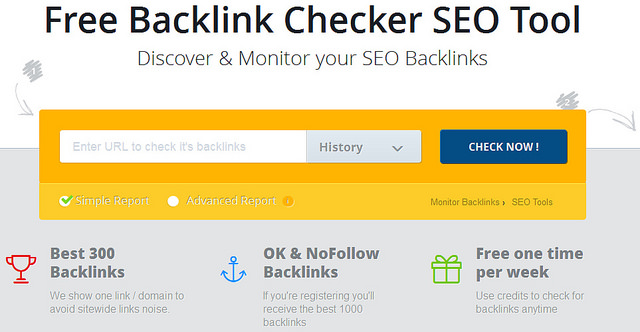 Free Backlink Checker SEO Tool