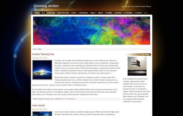 Glowing Amber