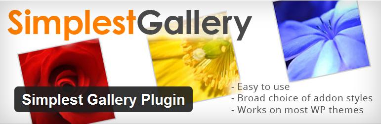 Simplest Gallery Plugin