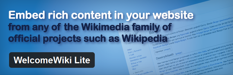 WelcomeWiki Lite
